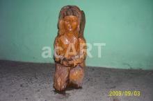 szobor fából